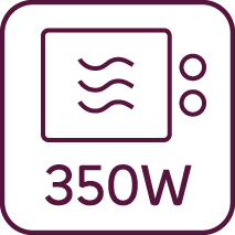 Microwelle 350W