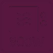 Mikrowelle 800W