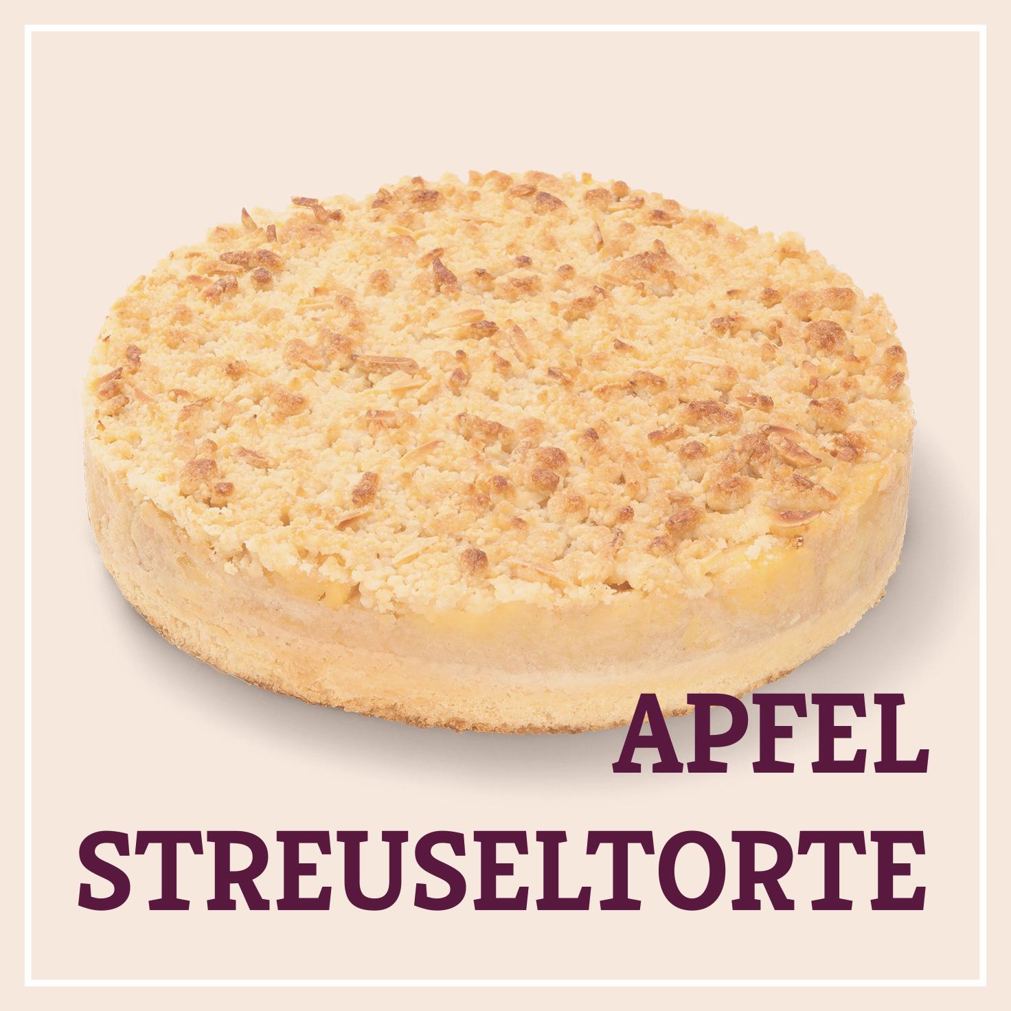 Heiss & Süß - Apfel Streuseltorte