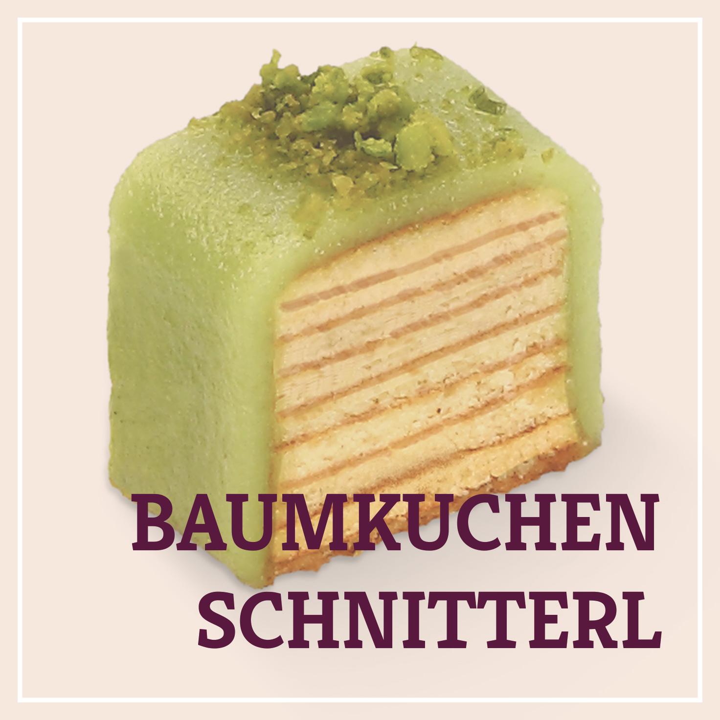 Heiss & Süß - Petit Fours - Baumkuchenschnitterl