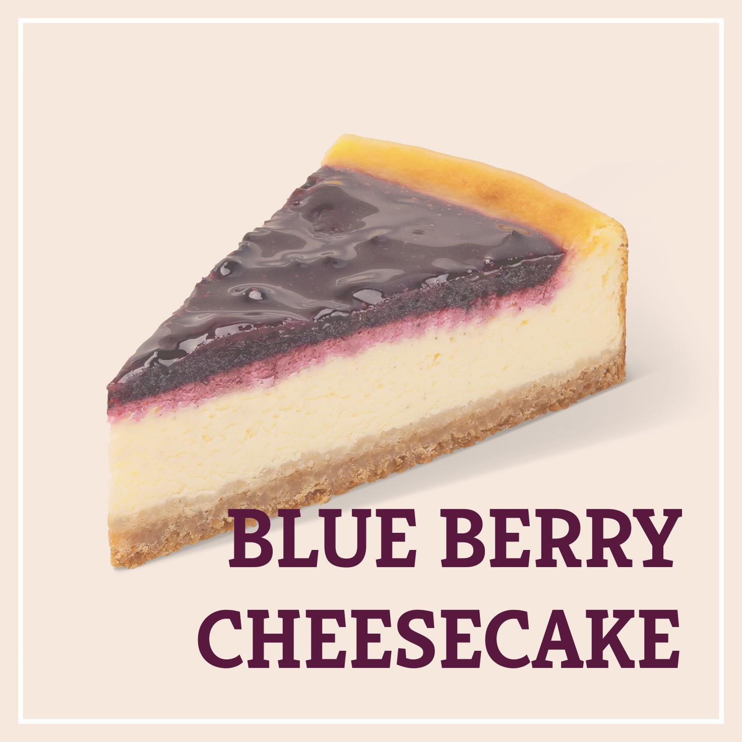 Heiss & Süß - Blue Berry Cheesecake