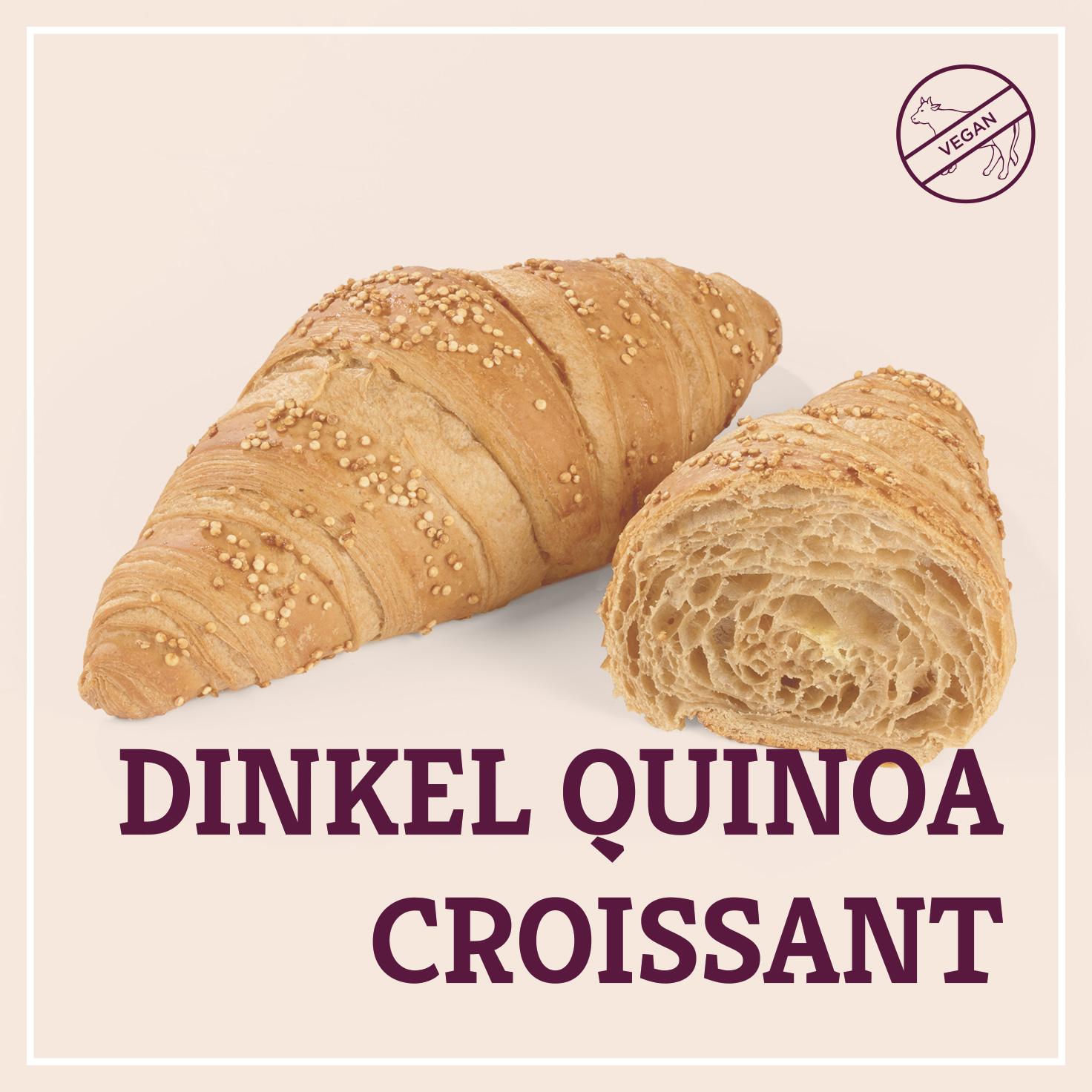 Heiss & Süß - Dinkel Quinoa Croissant