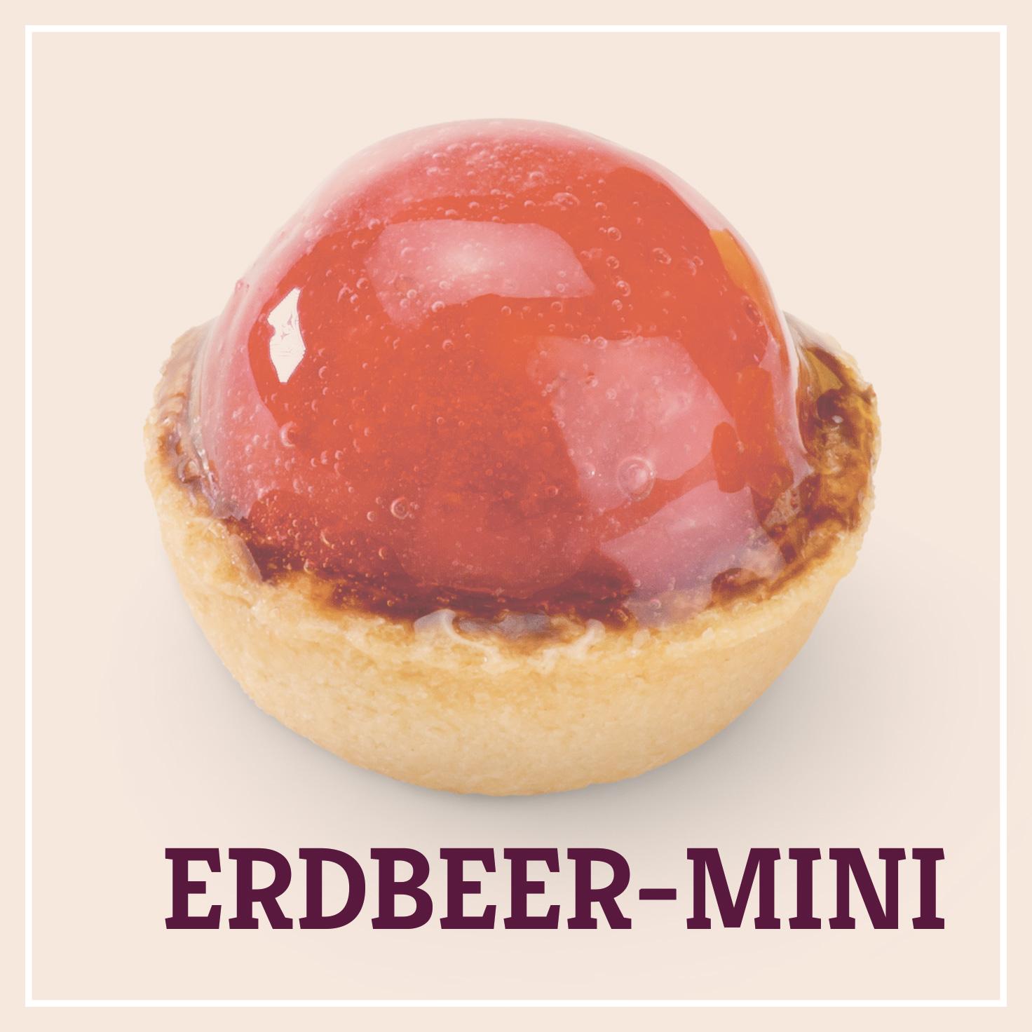 Heiss & Süß - Petit Fours - Erdbeer-Minii