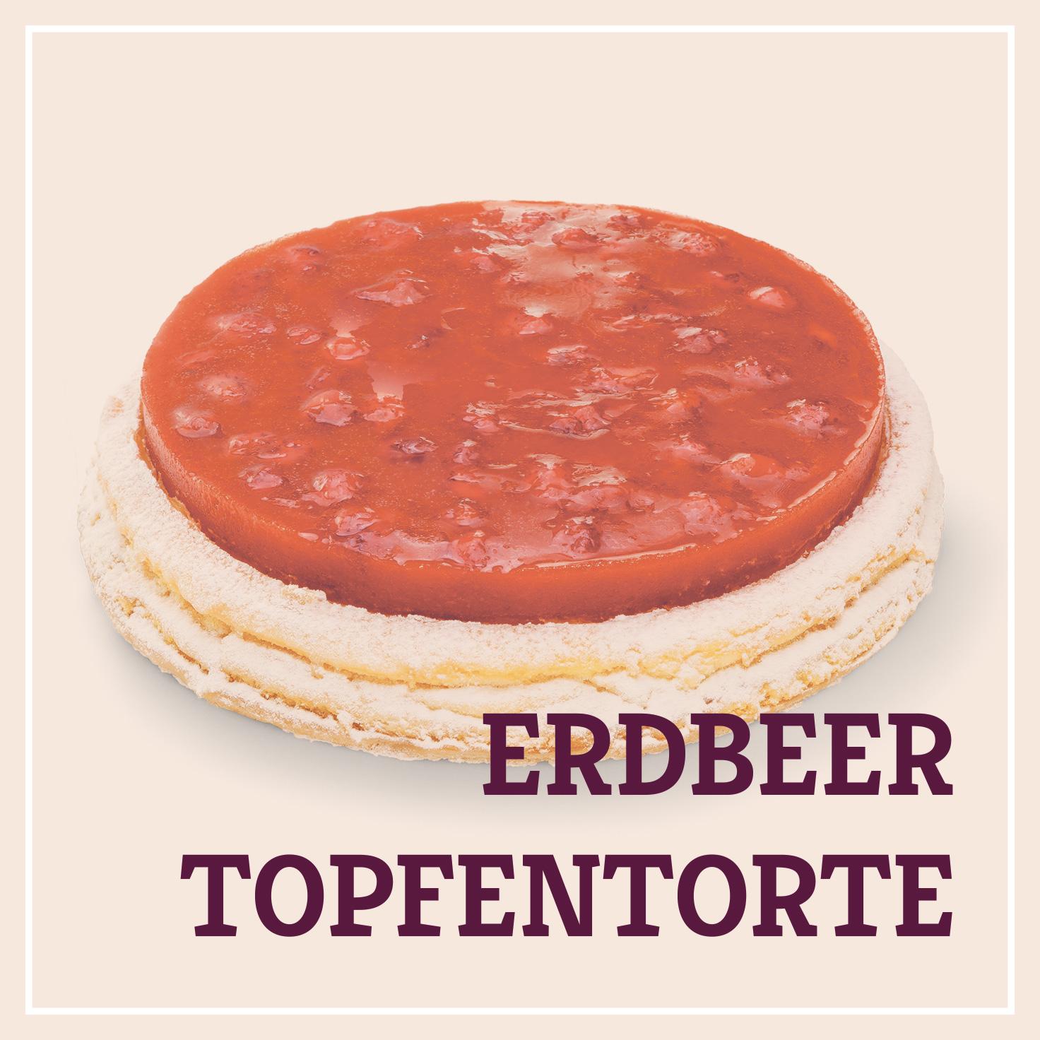 Heiss & Süß - Erdbeer-Topfentorte