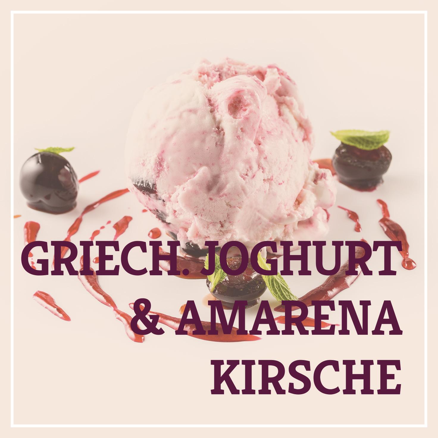 Heiss & Süß - Griechisches Joghurt & Amarenakirsche