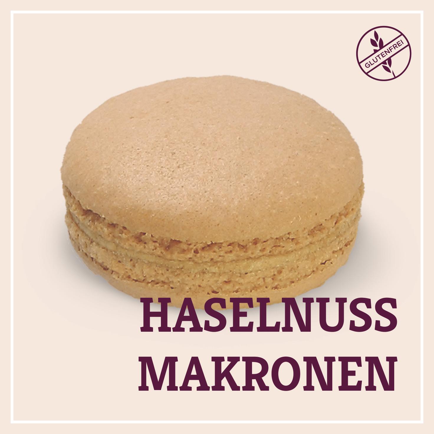 Heiss & Süß - Haselnuss-Makronen