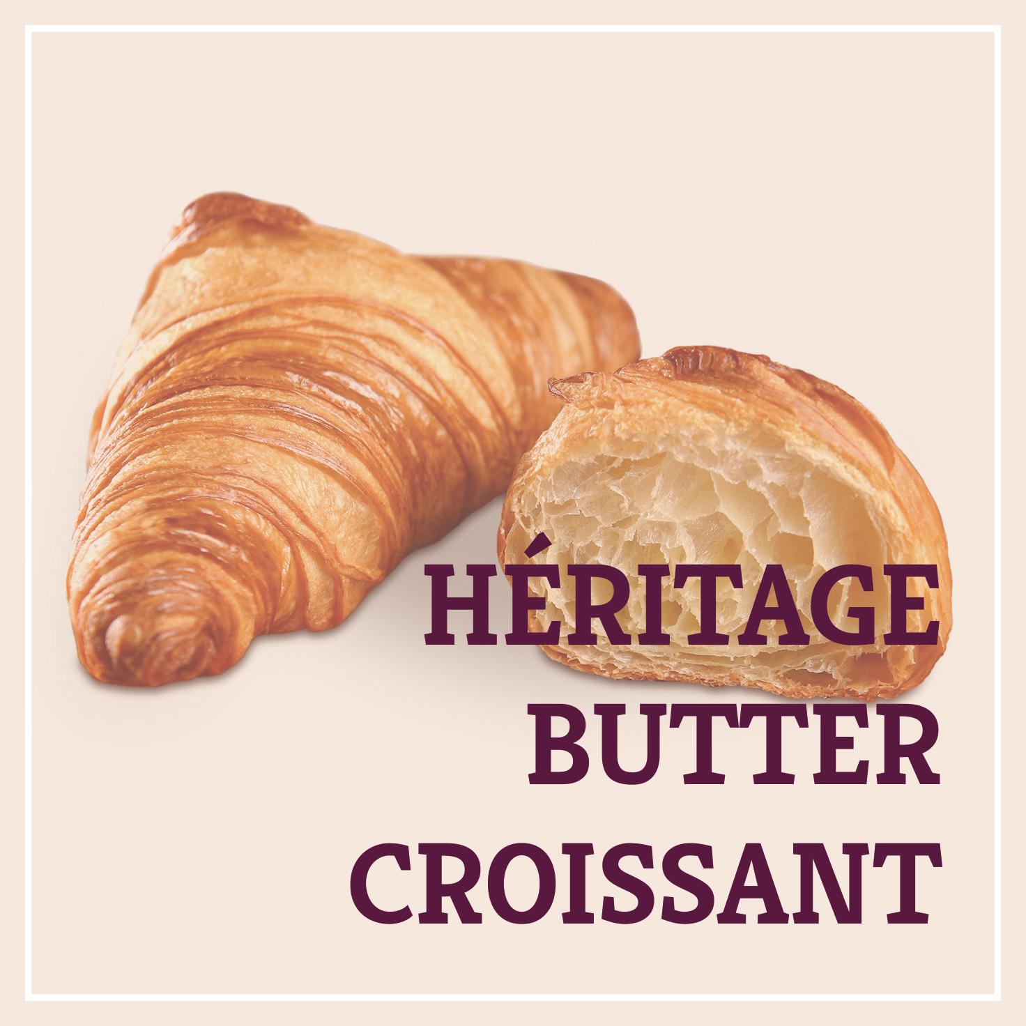 Heiss & Süß - Héritage Buttercroissant