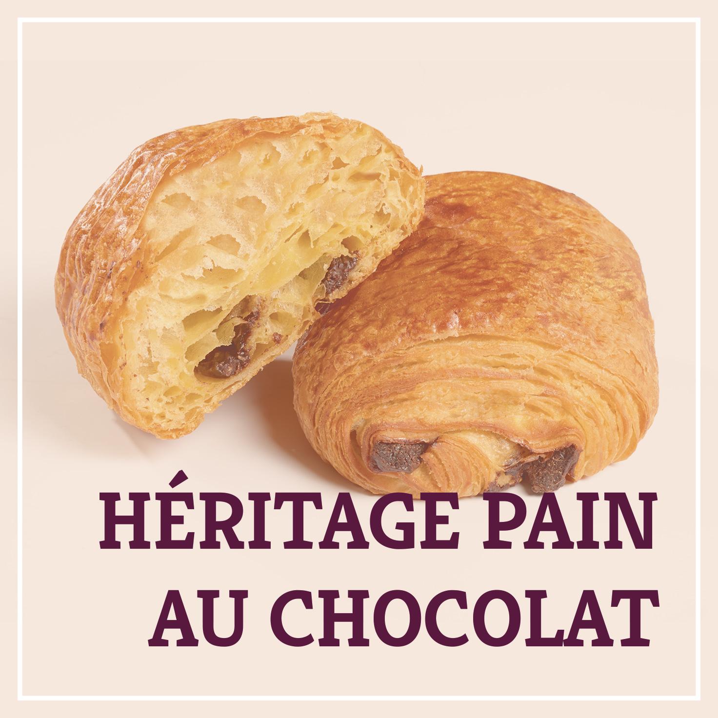 Heiss & Süß - Héritage Pain au chocolat