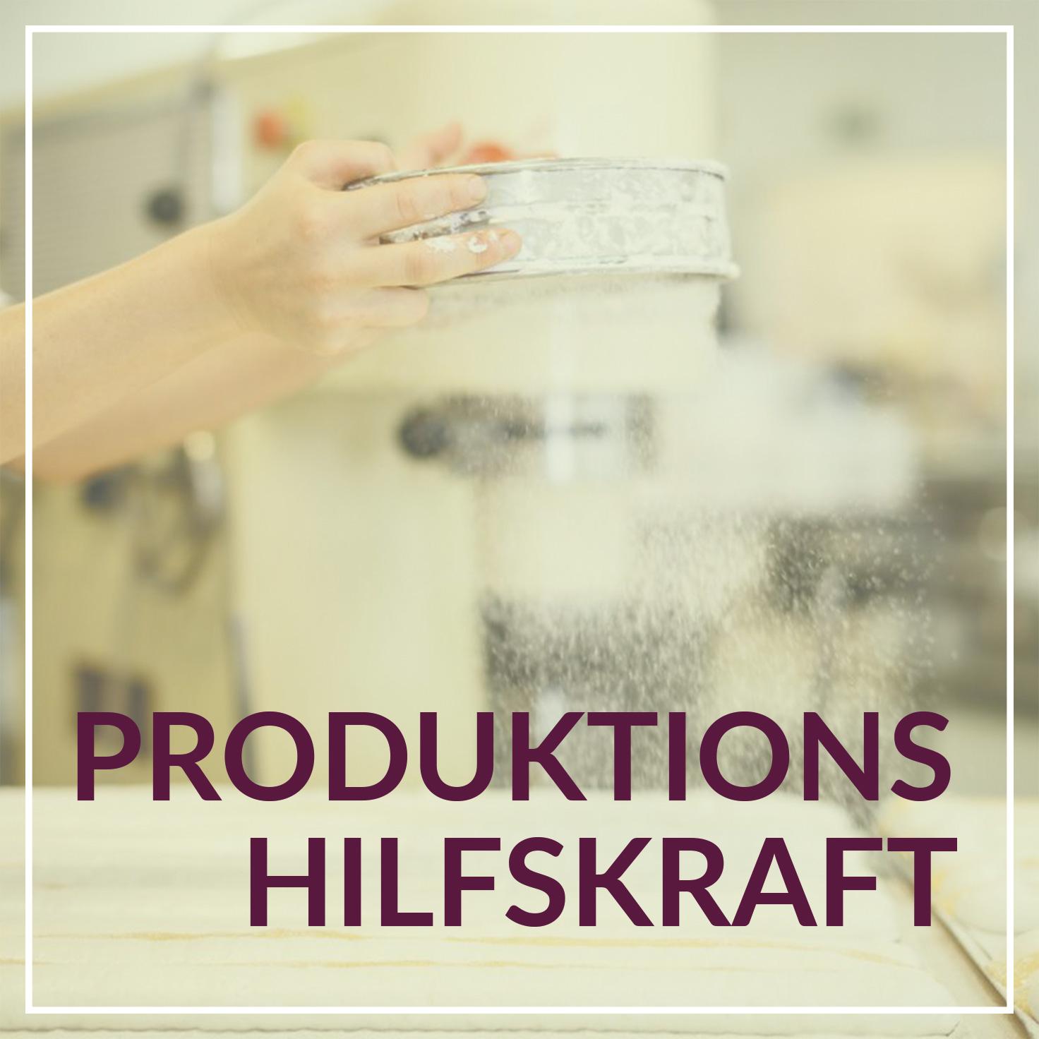 Heiss & Süß Jobs - Produktionshilfskraft