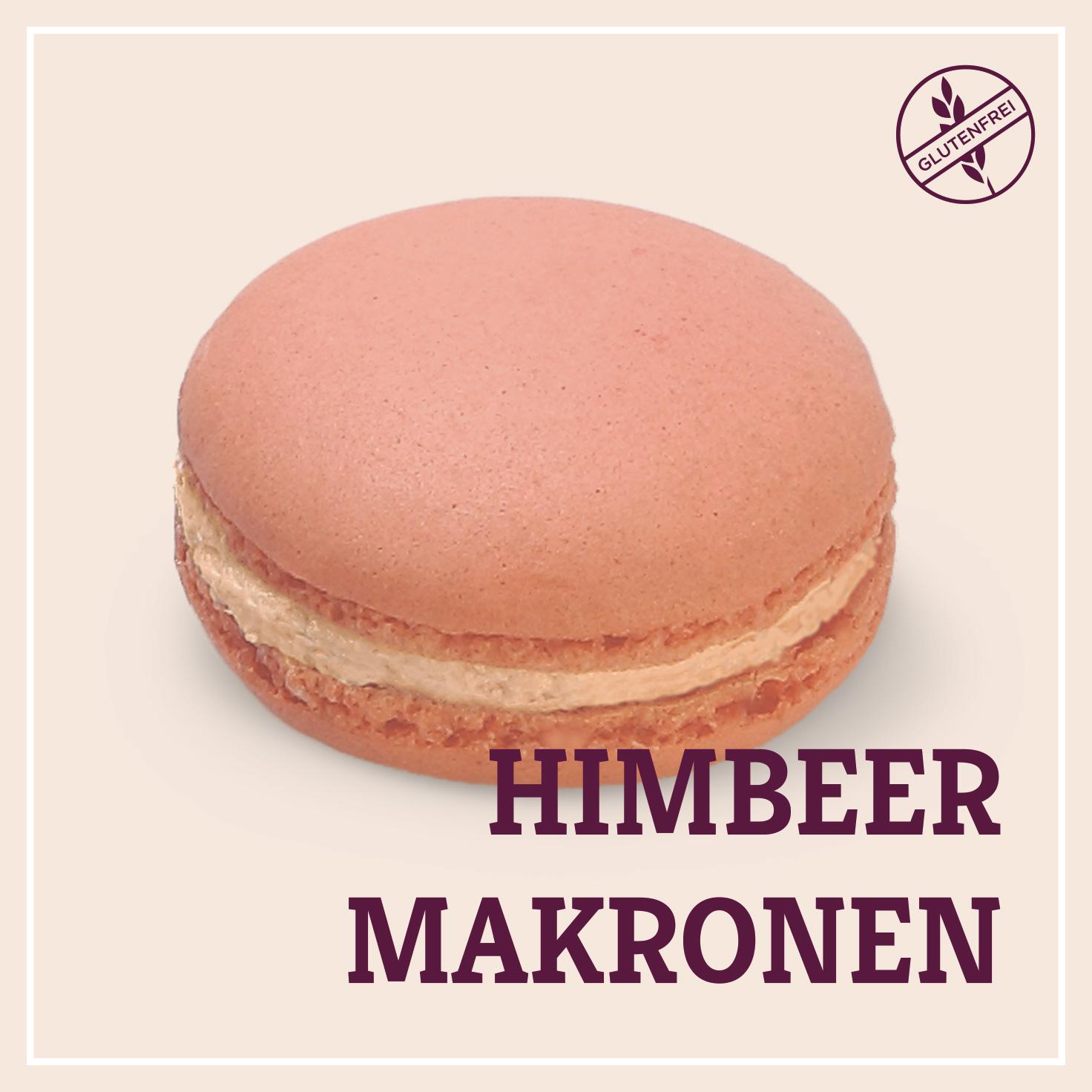 Heiss & Süß - Himbeer-Makronen