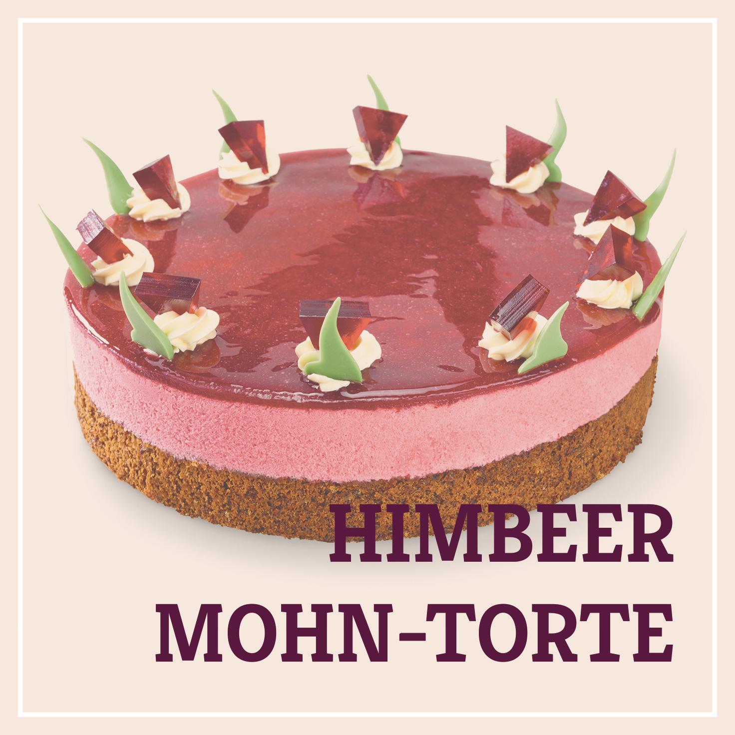 Heiss & Süß - Himbeer-Mohn-Torte