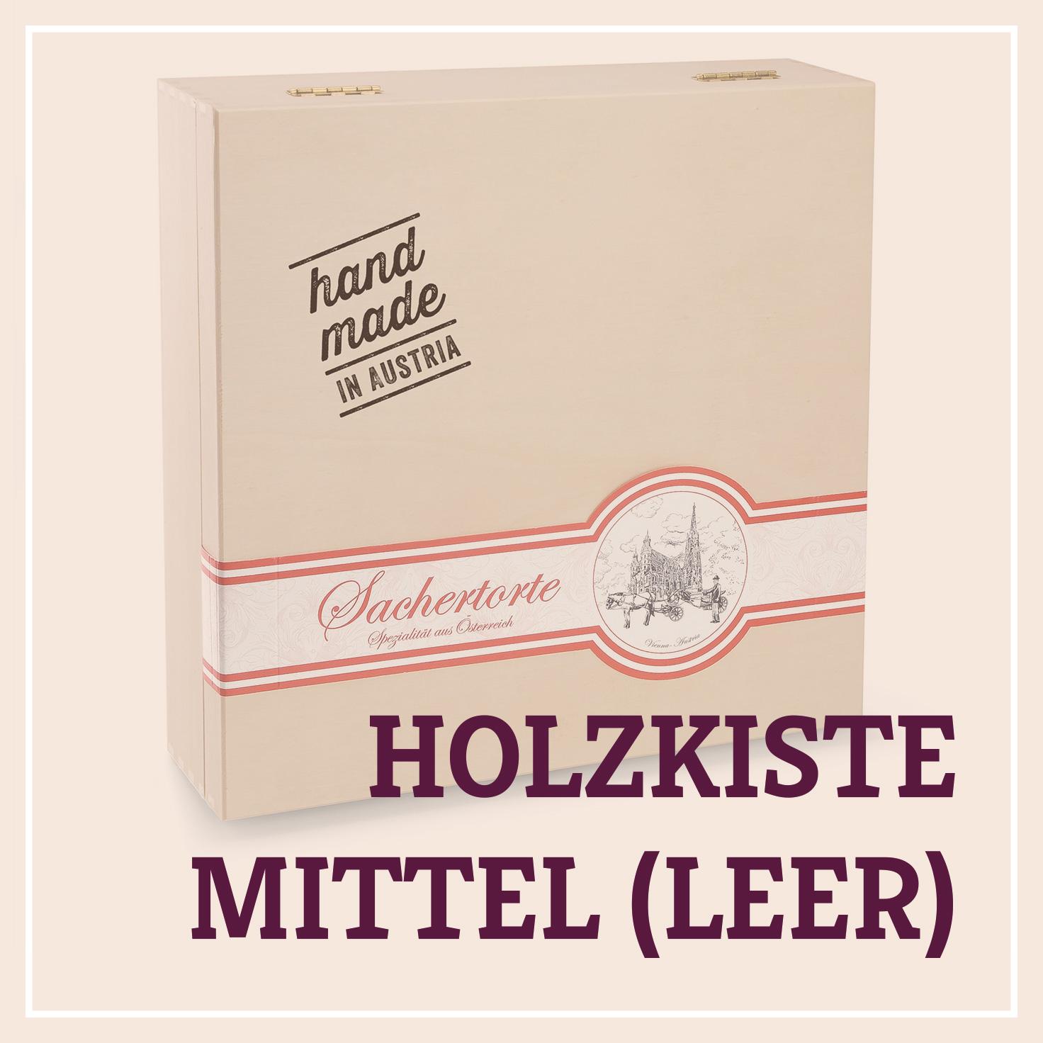 Heiss & Süß - Holzkiste mittel