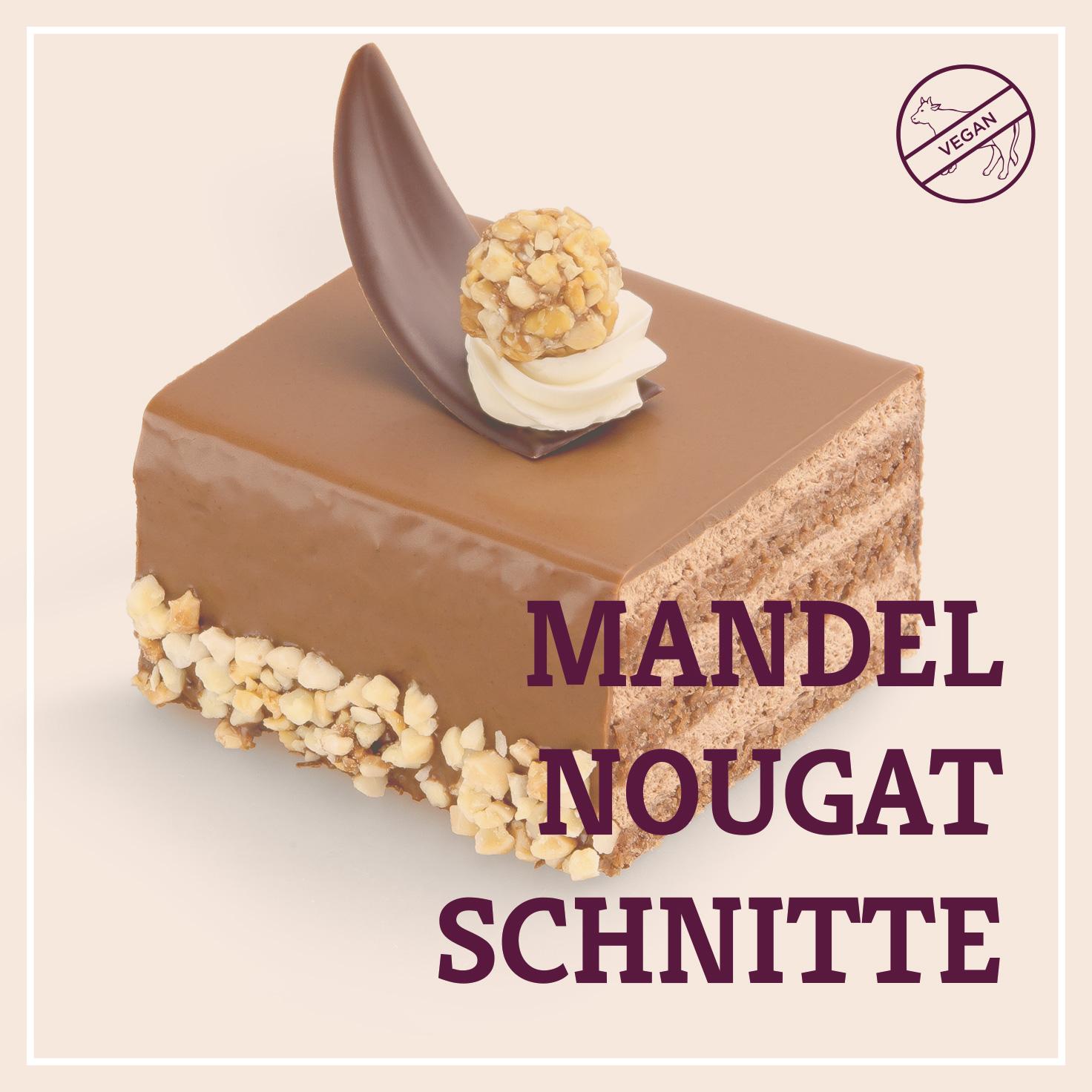 Heiss & Süß - Mandel-Nougat Schnitte