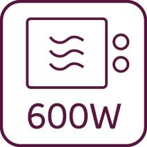 Mikrowelle 600W
