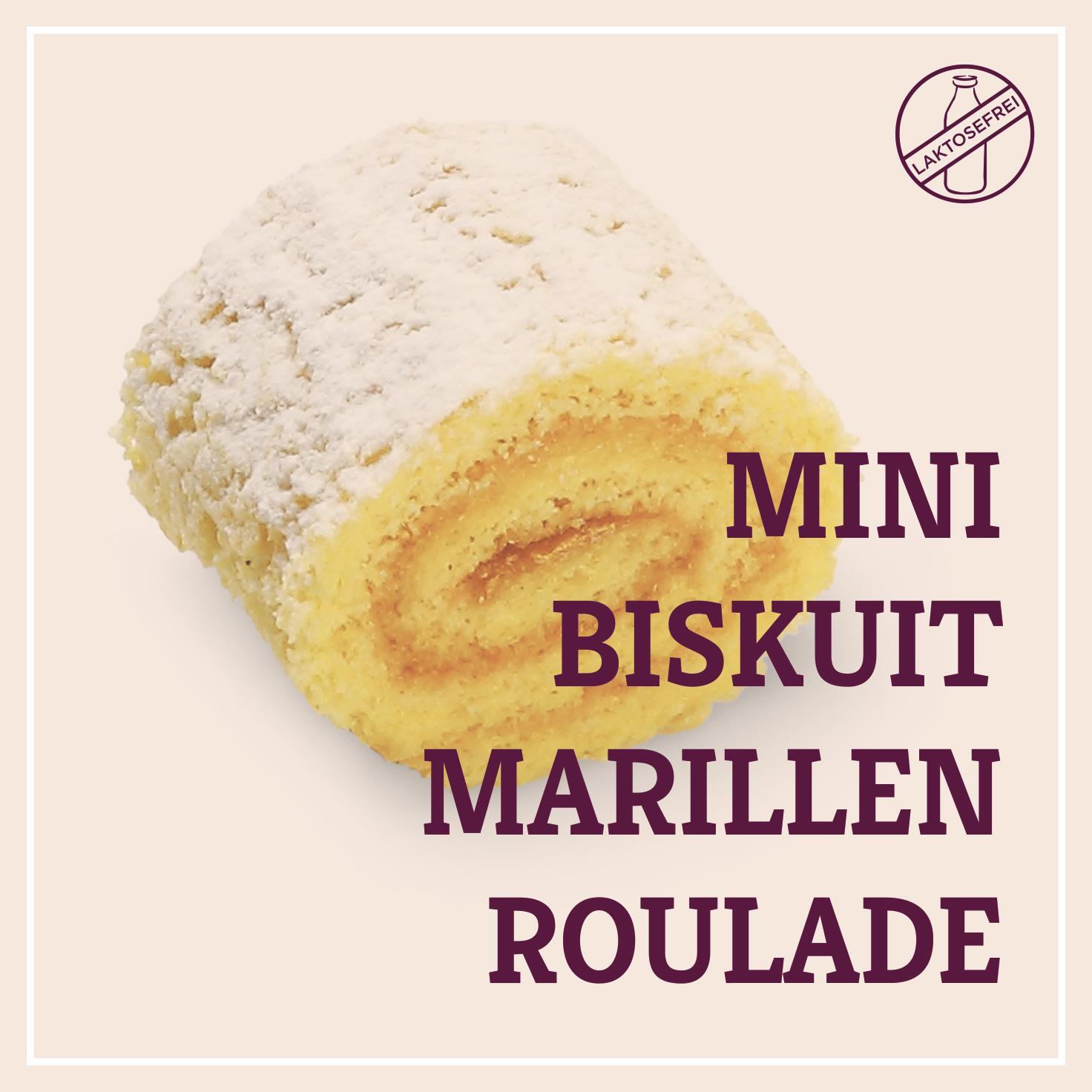 Heiss & Süß - Mini-Biskuit-Marillenroulade