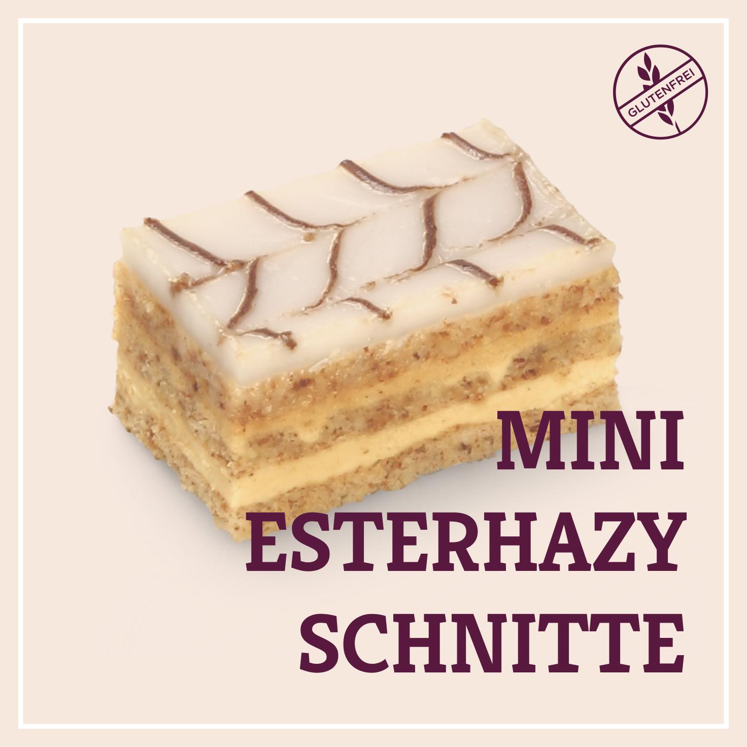 Heiss & Süß - Mini-Esterhazyschnitte