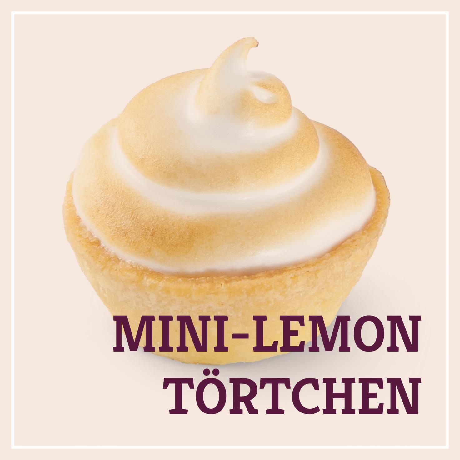 Heiss & Süß - Petit Fours - Mini-Lemontörtchen