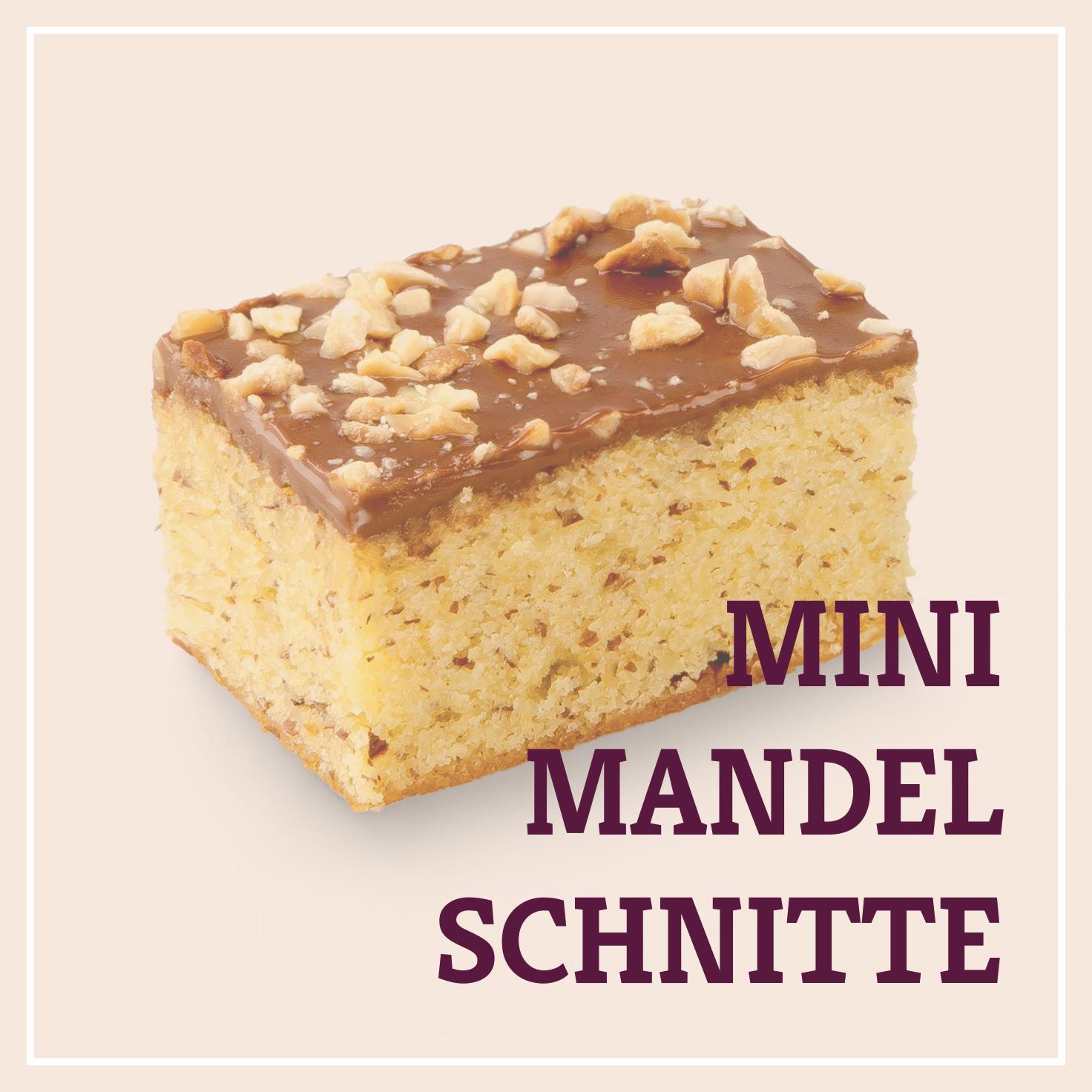 Heiss & Süß - Mini-Mandelschnitte