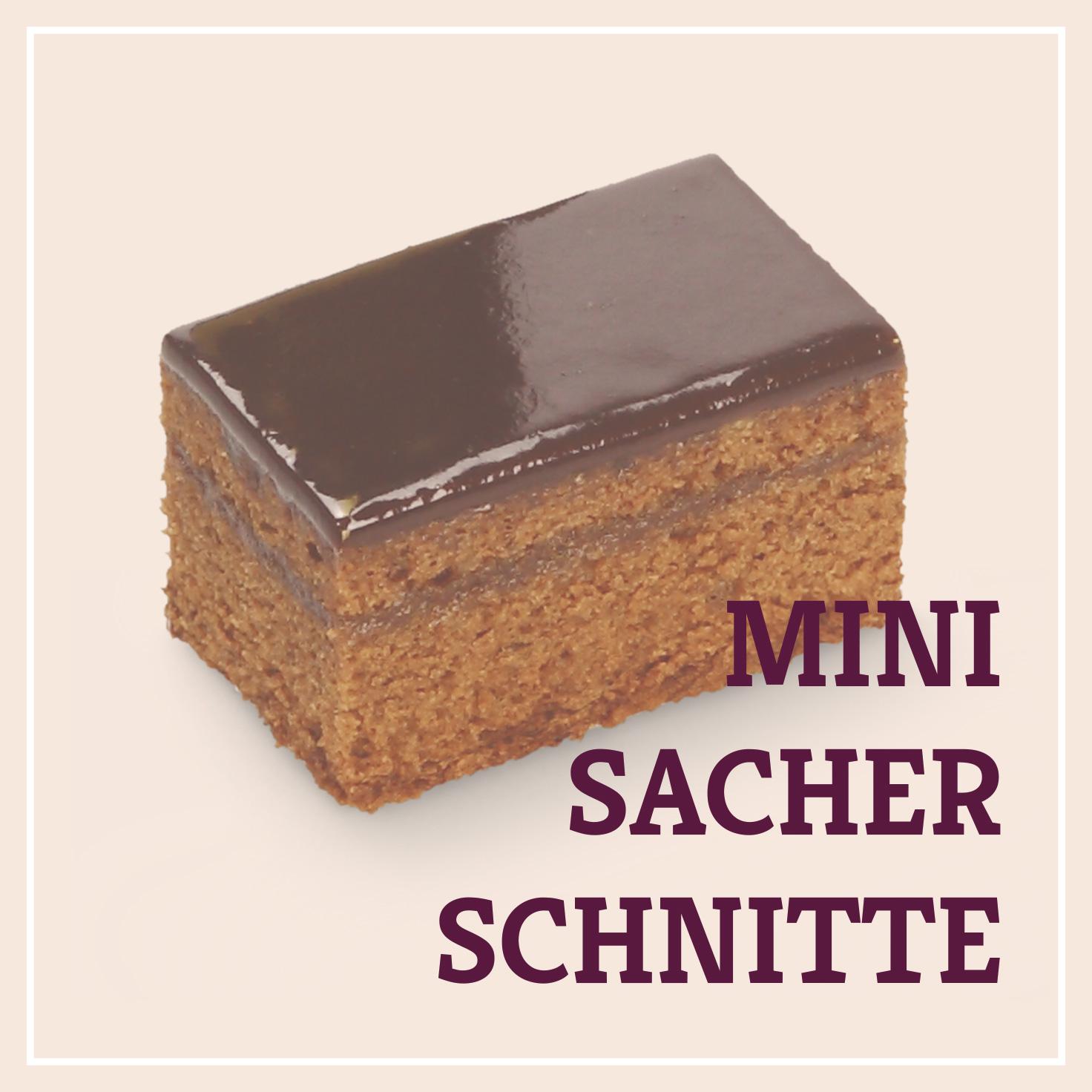 Heiss & Süß - Mini-Sacherschnitte