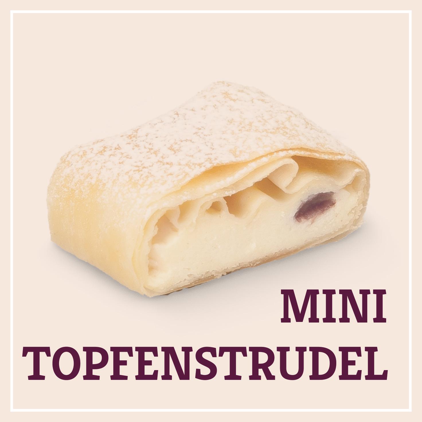 Heiss & Süß - Mini-Topfenstrudel