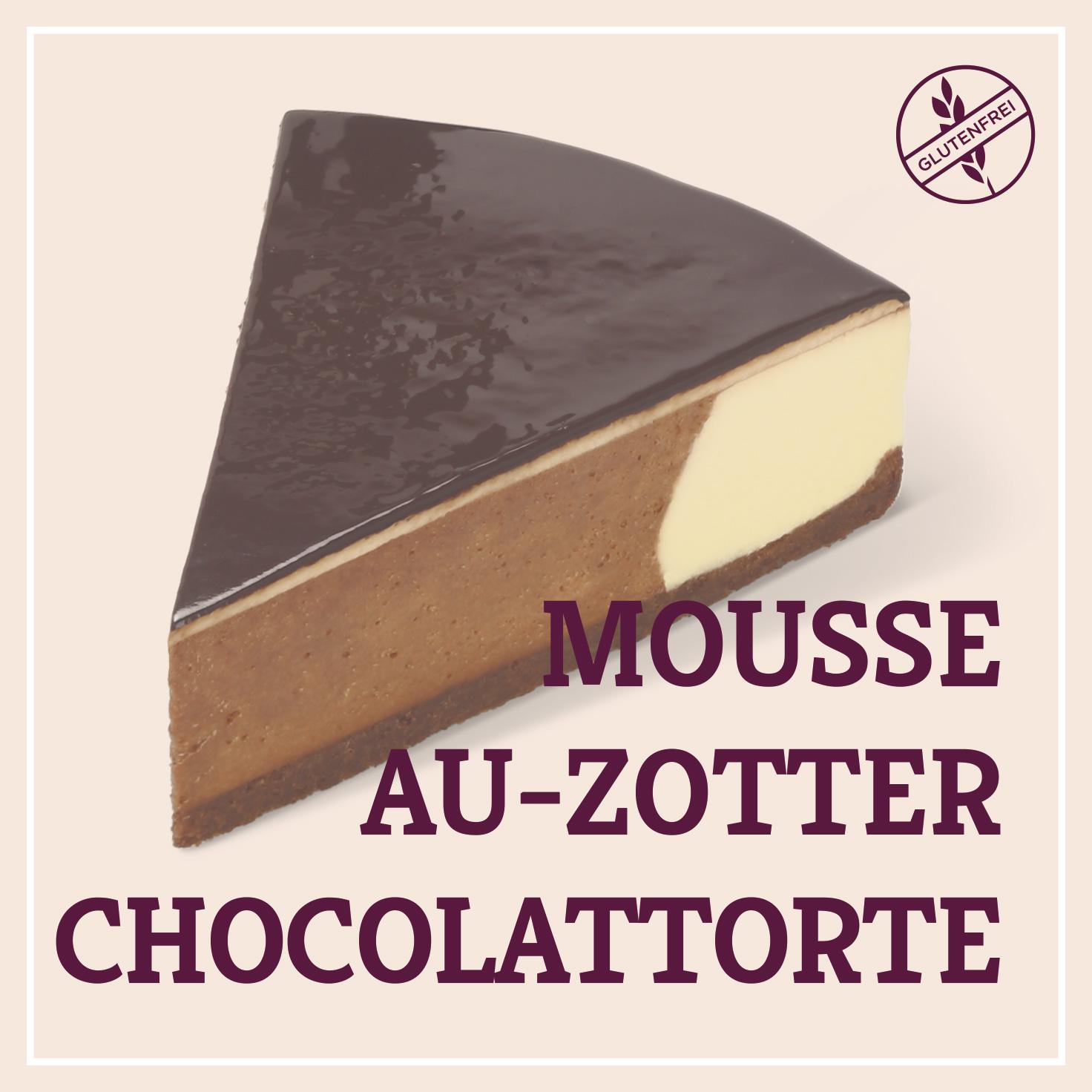 Heiss & Süß - Mousse-au-Zotter-Chocolat-Torte