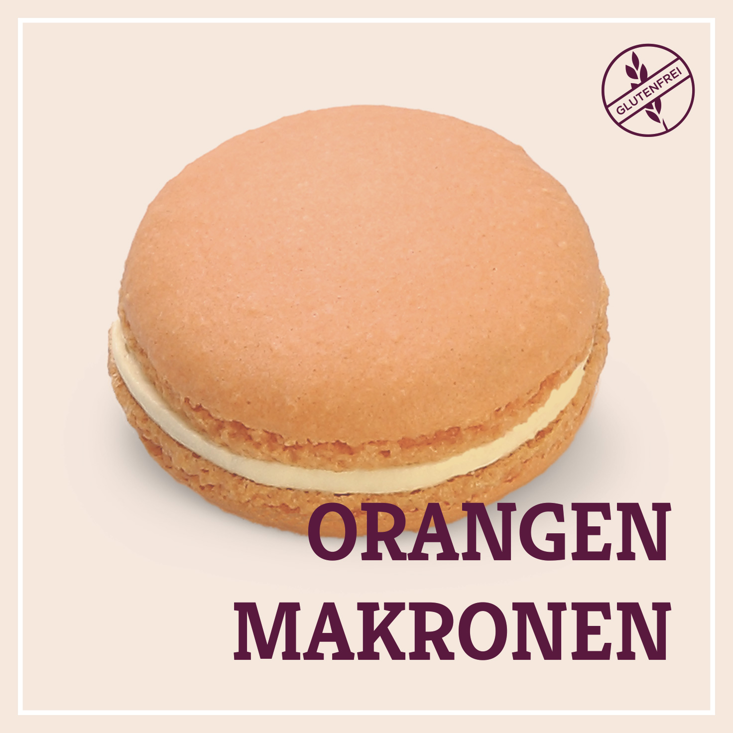 Heiss & Süß - Orangen-Makronen