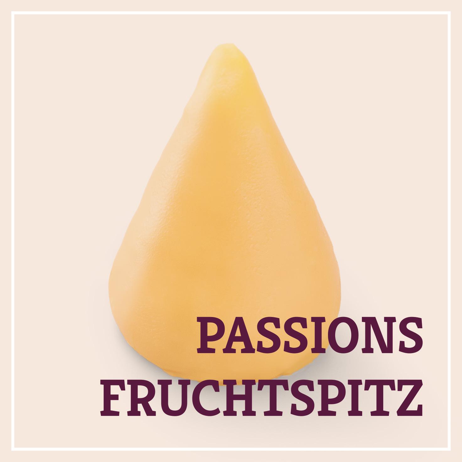 Heiss & Süß - Petit Fours - Passionsfruchtspitz