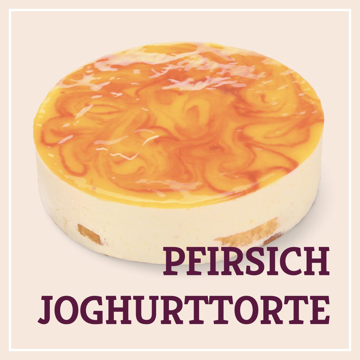 Heiss & Süß - Pfirsich-Joghurttorte