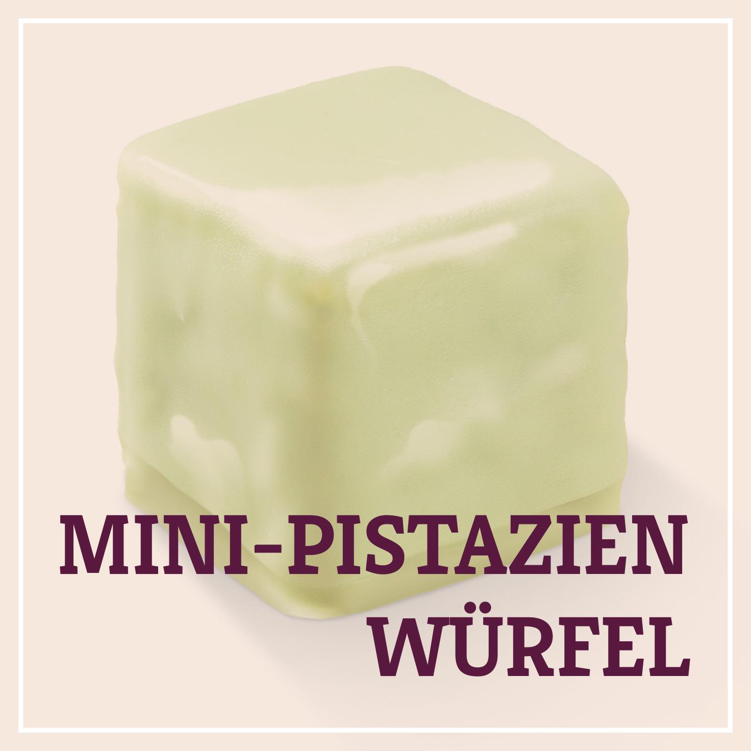 Heiss & Süß - Petit Fours - Mini-Pistazien Würfel