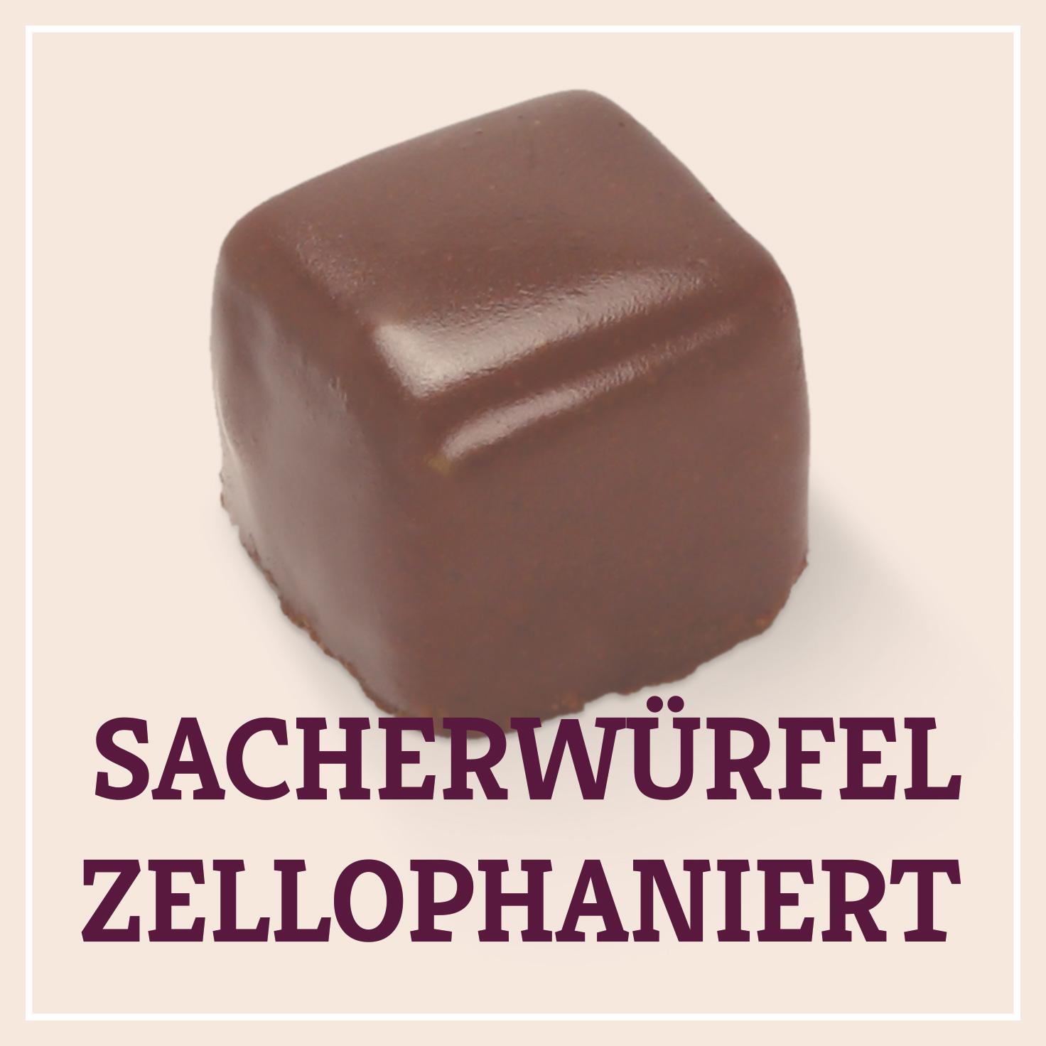 Heiss & Süß - Sacherwürfel zellophaniert