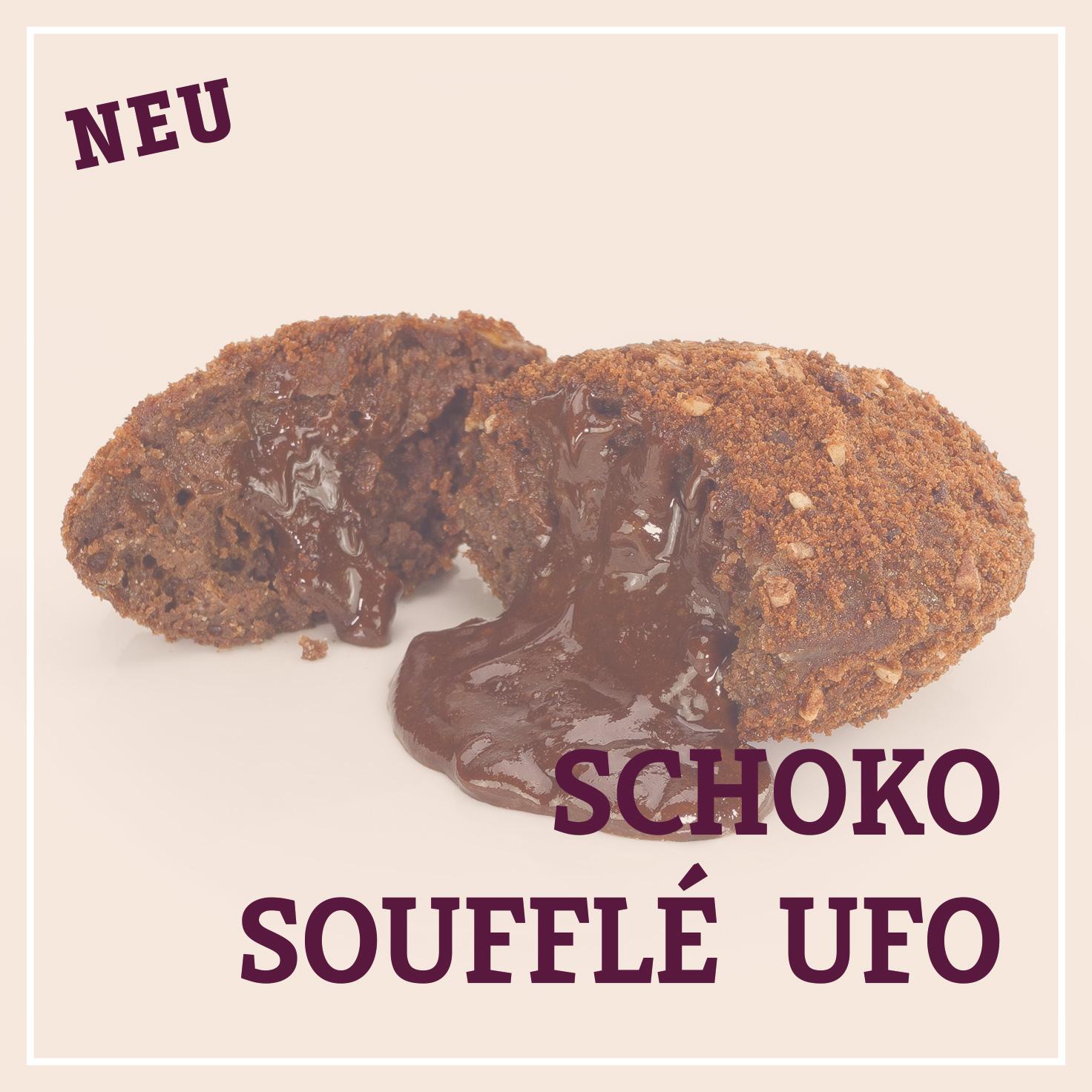 Heiss & Süß - Schokosoufflé Ufo