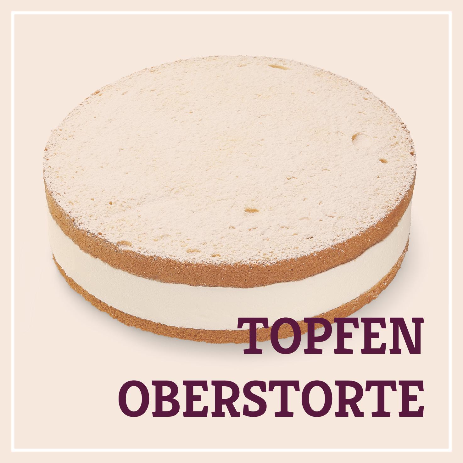 Heiss & Süß - Topfen-Oberstorte