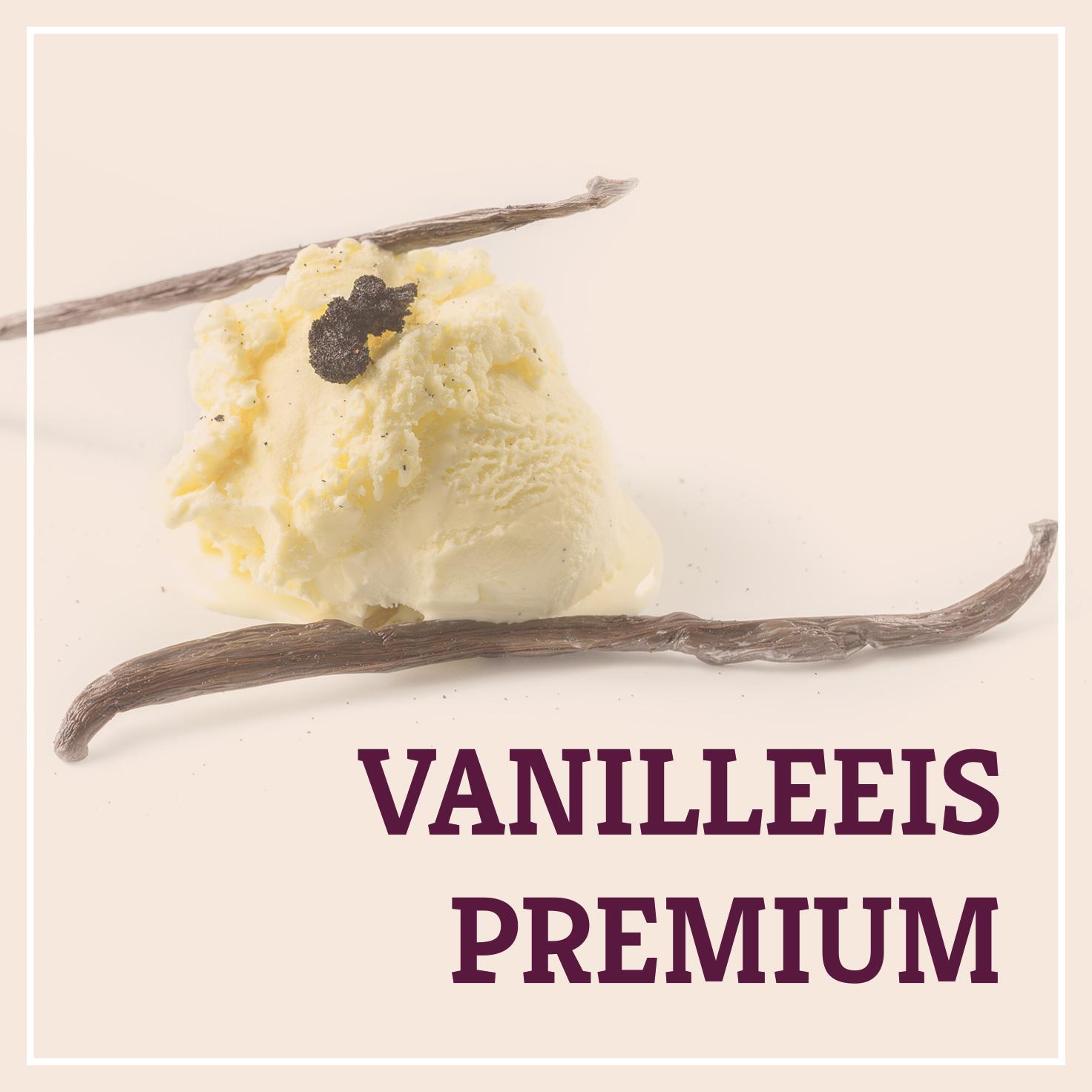 Heiss & Süß - Vanilleeis Premium