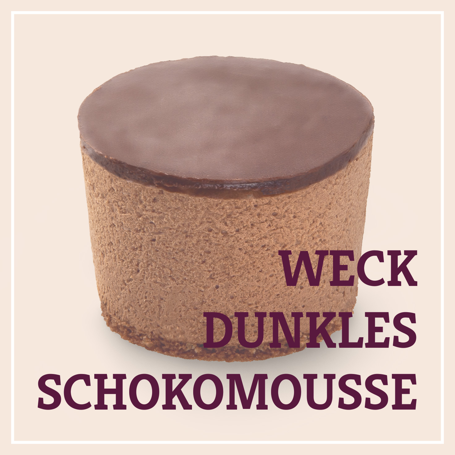 Heiss & Süß - Weck-Dunkles Schokomousse