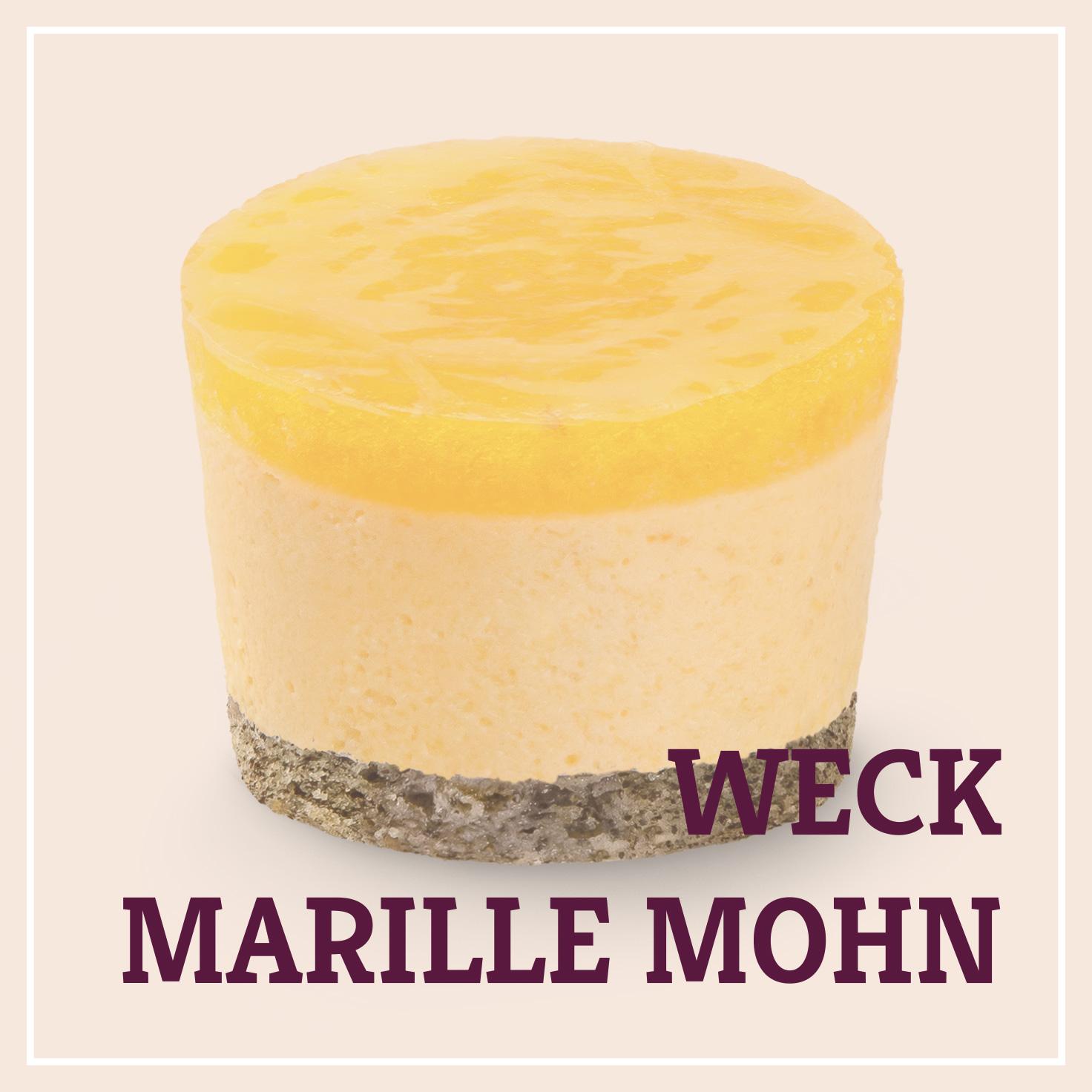 Heiss & Süß - Weck-Marille Mohn