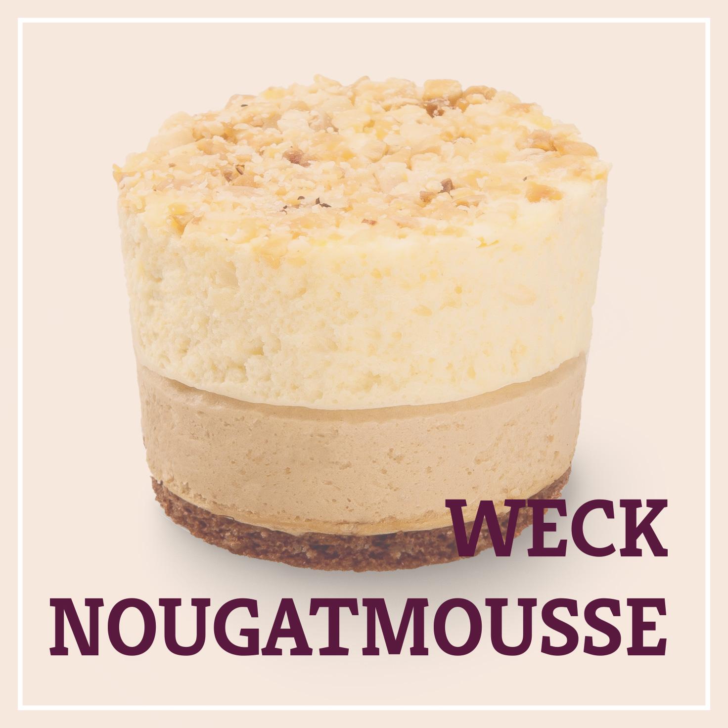 Heiss & Süß - Weck-Nougatmousse