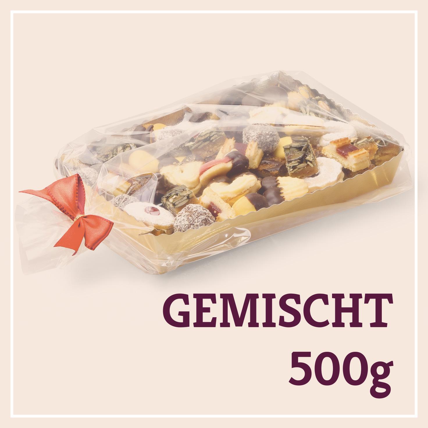 Heiss & Süß - Teebäckerei gemischt 500g in der Goldschale
