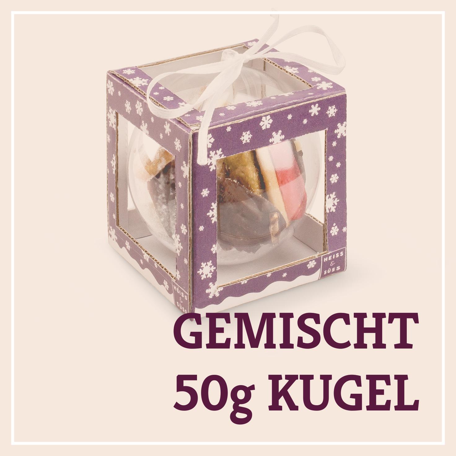 Heiss & Süß - Teebäckerei Kugel 50g